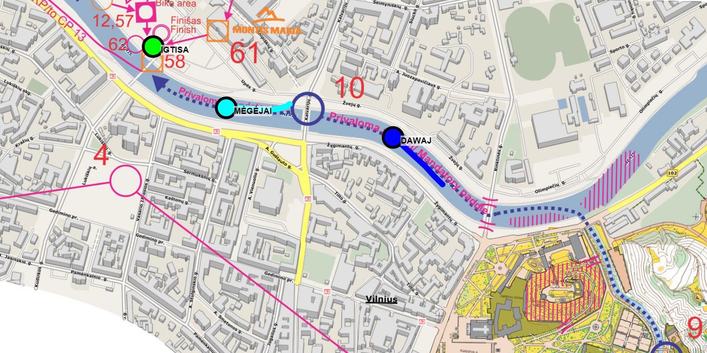Sportas GPS sekimo