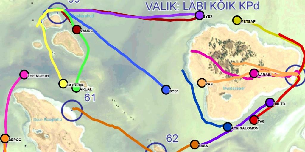 Spordi GPS träkker