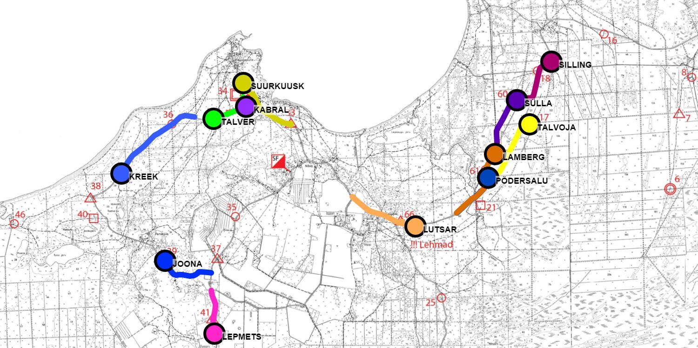 Auto orienteering GPS trackers