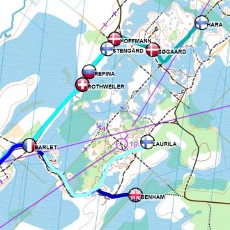 MTB-O GPS tracking system