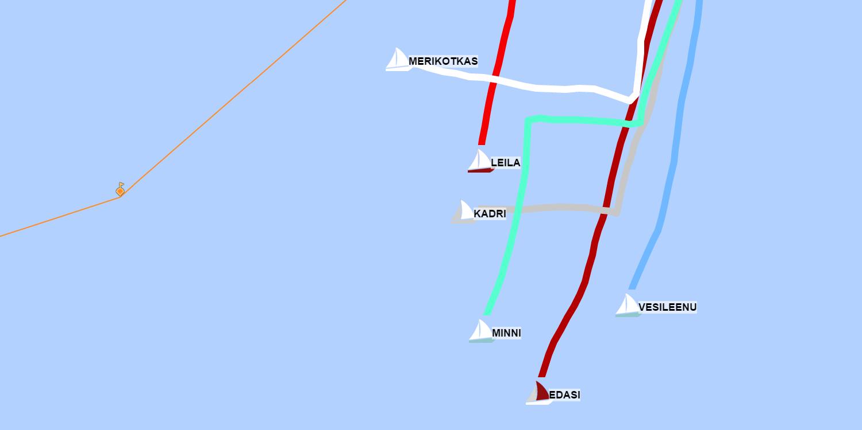 Sailboat GPS tracking